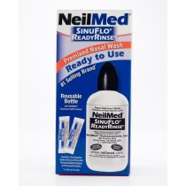 NeilMed SinusFlo ReadyRinse Premixed Nasal Wash 8 oz Squeeze Bottle