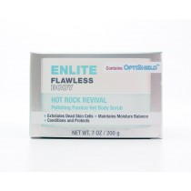 Enlite Flawless Body Hot Rock Revival Polishing Pumice Hot Body Scrub 7oz