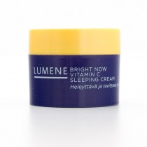 Lumene Bright Now Vitamin C Sleeping Cream .5 fl oz