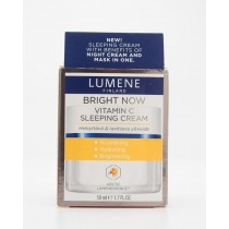 Lumene Bright Now Vitamin C Sleeping Cream Arctic Lumenessence 1.7 fl oz