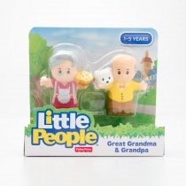 Fisher-Price Little People Great Grandma & Grandpa