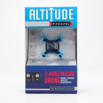 Propel RC Altitude 2.4Ghz Micro Drone Indoor/Outdoor Wireless Quadrocopter - Navy with Light Blue