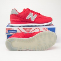New Balance Men's Synthetic 574 Classics Running Shoes ML574SYD in Red