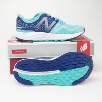 New Balance Women's Fresh Foam Vongo Stability Running Shoes WVNGOBY in Light Blue