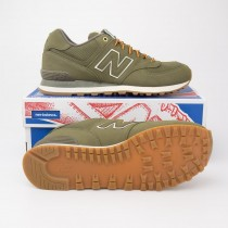 New Balance Men's Outdoor 574 Classics Running Shoes ML574HRX in Olive