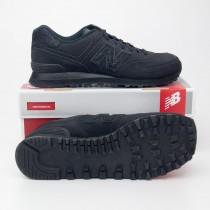 New Balance Men's Caviar 574 Classics Running Shoes ML574BEX in Black