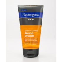 Neutrogena Men Skin Clearing Acne Wash 5.1 fl oz