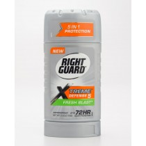 Right Guard Xtreme Defense 5 Flesh Blast Antiperspirant 2.6 oz