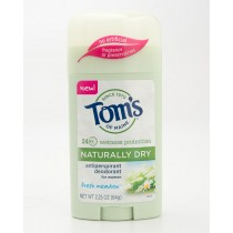 Tom's of Maine Naturally Dry Antiperspirant Deodorant for Women Fresh Meadow 2.25 oz