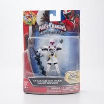Bandai Mighty Morphin Power Rangers Ninja Master Mode White Ranger #43710