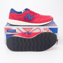 New Balance Men's Re-Engineered Suede 420 Running Shoes MRL420SC in Red