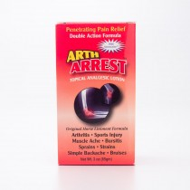 Arth Arrest Topical Analgesic Lotion 3 oz