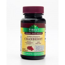 Finest Nutrition Super Strength Cranberry Extract 300 mg 60 Caplets