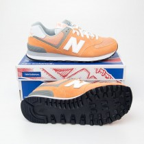 New Balance Women's Core Plus 574 Classics Running Shoes WL574CB in Sahara Sunset