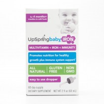 Upspring Baby Iron + Immunity Multi-Vitamin Dietary Supplement 2 fl oz (60 Day Supply)