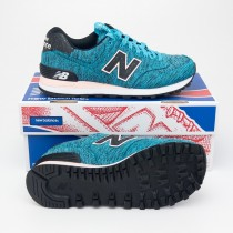 New Balance Women's Outdoor Escape 574 Classics Running Shoes WL574PTC in Vivid Ozone Blue