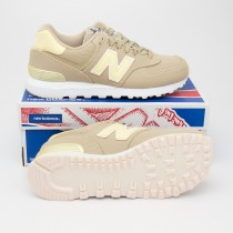 New Balance Women's Miami Palms 574 Classics Running Shoes WL574MIA in Sand
