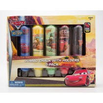 Disney Cars Jumbo Chalk with Holders 5-Pack