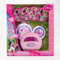 "Disney Mini Mouse Bow-tique ""Sing With Me"" CD Player"