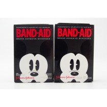 Band-Aid Mickey Mouse 20 Assorted Sizes Adhesive Bandages - Set of 2 - 20 Ct Packages
