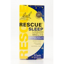 Bach Rescue Sleep Liquid Melts Natural Sleep Aid 28 Capsules