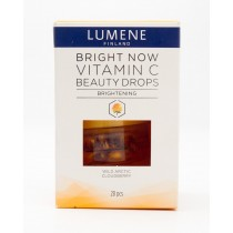 Lumene Bright Now Vitamin C Beauty Drops Wild Arctic Cloudberry 28 Capsules