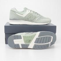 New Balance Women's 697 Classics Running Shoes WL697CO in Mint Green