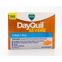 Vicks DayQuil Severe Cold & Flu 12 Caplets
