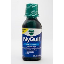 Vicks NyQuil Cold & Flu Original Flavor 8 fl oz