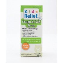 Kids Relief Cough & Cold Syrup 3.4 fl oz