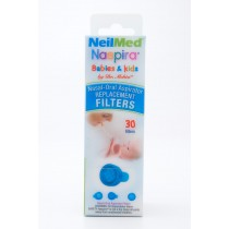 NeilMed Naspira Nasal-Oral Aspirator Replacemet Filters - 30 Ct