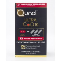 Qunol Ultra CoQ10 100mg 60 Softgels