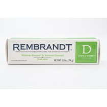 Rembrandt Deeply White + Peroxide Fresh Mint Net Wt 2.6 oz