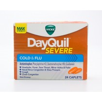 Vicks DayQuil Severe Cold & Flu 24 Caplets