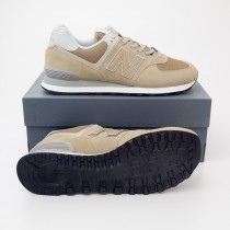 New Balance Men's Featured 574 Classics Running Shoes ML574EBE in Hemp