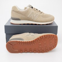 New Balance Men's Featured 574 Classics Running Shoes ML574ESF in Hemp