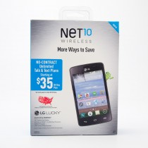 Net 10 LG Lucky Pre-Paid Smartphone