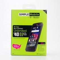 Simple Mobile by T-Mobile ZTE Majesty Pro Pre-Paid Cellphone