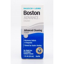 Bausch + Lomb Boston Advance Cleaner Step 1 for Rigid Gas Permeable Contact Lenses 1 fl oz