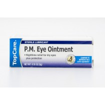 TopCare P.M. Eye Ointment Sterile Lubricant net wt 0.18 oz (5g)