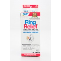 The Relief Products TRP Ring Relief Homeopathic Medicine for Tinnitus Symptoms 70 Tablets