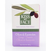 Kiss My Face Olive Oil Soap Olive & Lavender net wt 8 oz
