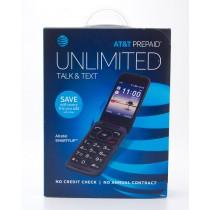 AT&T Prepaid Alcatel SmartFlip Prepaid Flip Phone