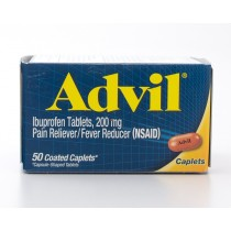 Advil Pain Reliever/Fever Reducer 200 mg Ibuprofen 50 Coated Caplets