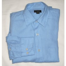 J Crew Linen Shirt Men's Small - S
