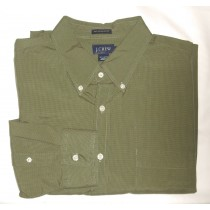 J Crew Micro-Check Shirt Men's Extra Large - XL