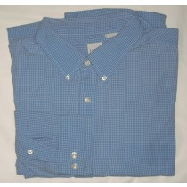 J Crew Micro-Check Shirt Men's XXLarge - 2XL
