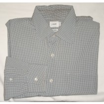 J Crew Micro-Check Dress Shirt Men's Medium - M - 15.5-16