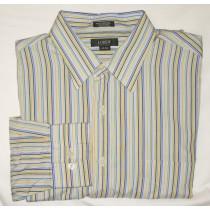 J Crew Striped Dress Shirt Men's Large - L - 16-16.5