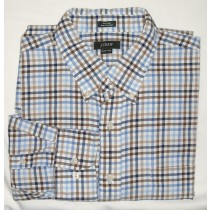 J Crew Tattersall Dress Shirt Men's Extra Large - XL - 17-17.5